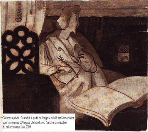 Autoportrait de Louis Bertrand